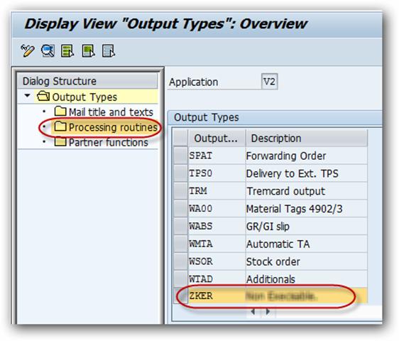SAP SD Output Type and Smartform Assignment - SAPHub