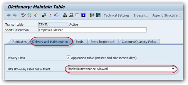 What is SAP Table Maintenance Generator? - SAPHub