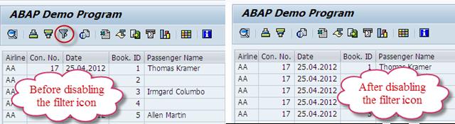 SAP ABAP TUTORIAL: Disable Icons in SAP ALV Toolbar
