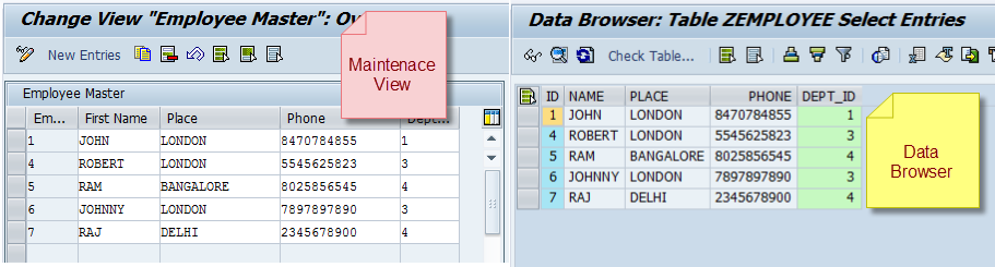 Create Selection Screen for SAP Table Maintenance View (SM30